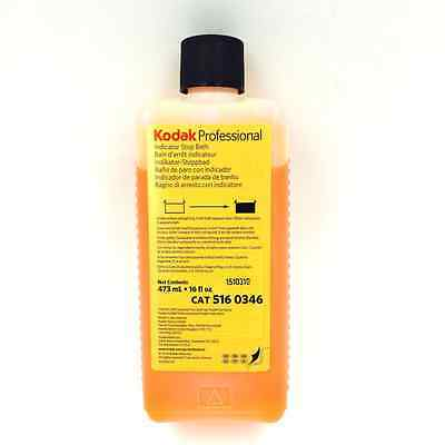 Kodak Indicator Stop Bath (Liquid) for Black & White Film and Paper (5160346)