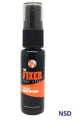 W7 The Fixer Face make up setting Spray Long Lasting