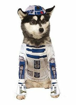 NEW size small S STAR WARS pet dog R2D2 Halloween costume by Rubies