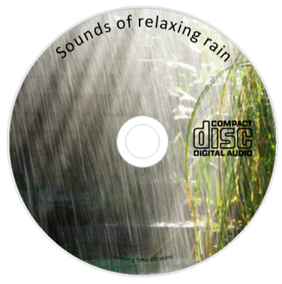 Sounds Of Rain Cd Relaxation Meditation Stress Sleep Aid Natural Cd