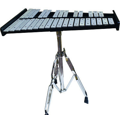 Percussion 32-Note School Student Bell Kit/Xylophone Set(bag includ)and Drum Pad