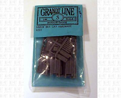 Grandt Line S/Sn3 Parts: DRGW Boxcar Hardware Kit 4001