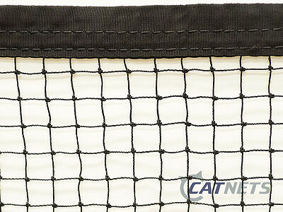 Cat Enclosure Netting  6m x 3m with REINFORCED EDGING