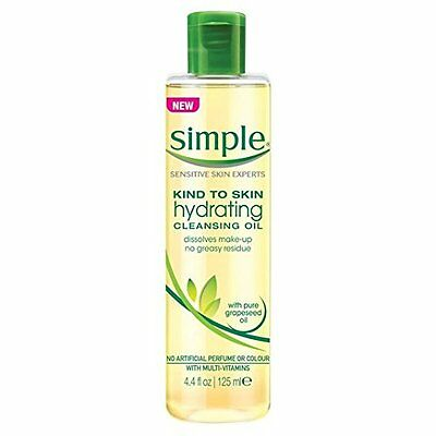 Simple Kind to Skin Hydrating Cleansing Oil (125ml) FREE UK DELIVERY