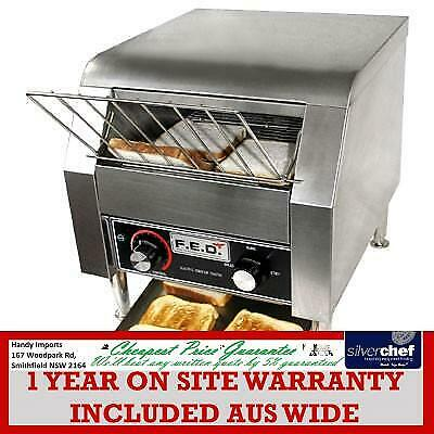 Fed Commercial Two Slice Conveyor Toaster Bread Taosting Hotel Café Shop Tt-300