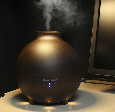 Essential Oil Aroma Diffuser Aromatherapy Ultrasonic Air Mist Deep Breathing