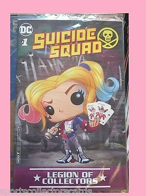 Suicide Squad Harley Quinn #1 DC COMIC FUNKO Legions of Collectors EXCLUSIVE XS