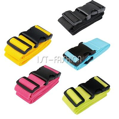 New Travel Suitcase Luggage Buckle Belt Packing Strap Baggage Elastic Band