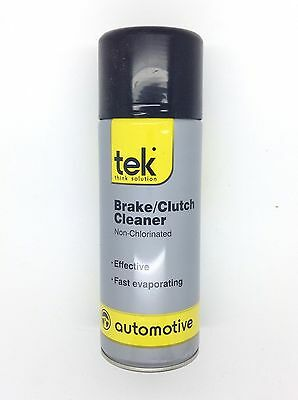 New Tek Brake/clutch Cleaner Non Chlorinated Spray 400Ml