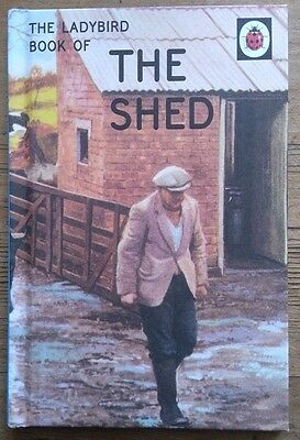 'How it works' The Shed A Ladybird Book Retro for Adults Very funny gift New
