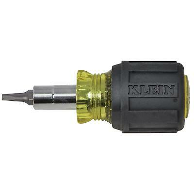Klein Tools 32562 Stubby Multi-Bit Screwdriver/Nut Driver