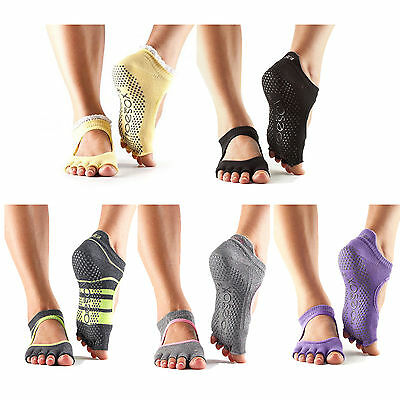 ToeSox Without Toe Bellarina Non Slip Grip Workout Dance Yoga Pilates Socks