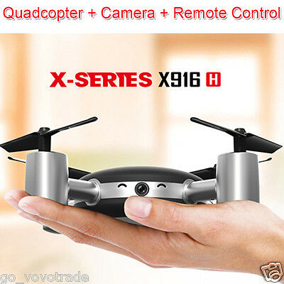 MJX X916H 2.4GHz 6Axis Gyro 4-Channels WiFi Remote Control Quadcopter Helicopter