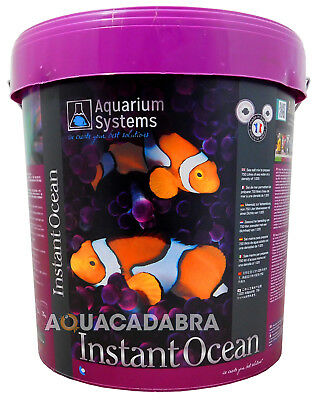 INSTANT OCEAN 20kg SYNTHETIC SALT BUCKET MARINE AQUARIUM REEF CORAL FISH TANK