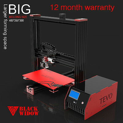 Black Widow 3D Printer Kit with BLTouch BL Touch Auto Bed Leveling / Alu i3 Tevo