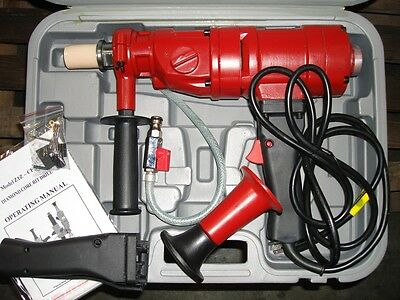 "3-1/2"" PROFESSIONAL HANDHELD CORE DRILL - New in Box"