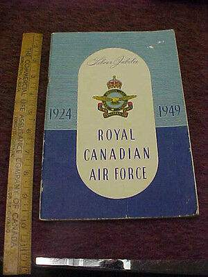 original booklet silver jubilee rcaf 1924 1949  illustrated history