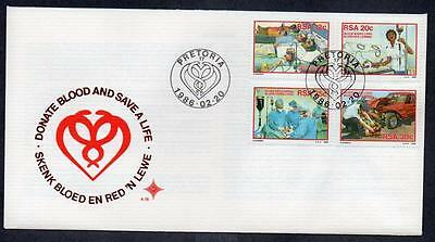 South Africa 1986 Blood Donor Campaign FDC