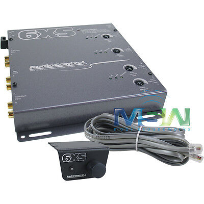 *new* Audiocontrol® 6Xs-G 6-Channel Electronic Car Stereo Crossover Cross Over