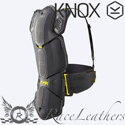 Knox Meta Sys Noir Sports Course Moto Dos Protection Armure