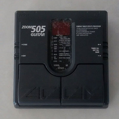Zoom 505 Guitar Multi-Effects Pedal (  66% OFF)