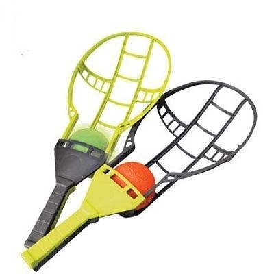 Trackball Sport Backyard Game Trac Ball Lacrosse Racket Outdoor Toy Gift