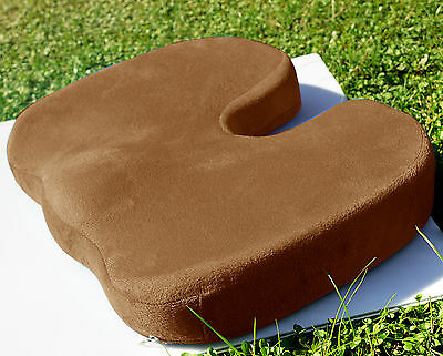Memory Foam Coccyx Orthopedic Car Seat Office Chair Cushion Pain Relief Pillow