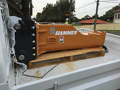 Hydraulic Hammer Excavator 5.5-8.5ton MADE IN ITALY HAMMER S.R.L Rock Breaker