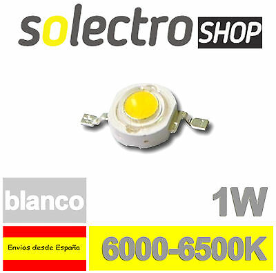 Diodo LED 1W BLANCO SMD 130LM POWER LED WHITE P0043
