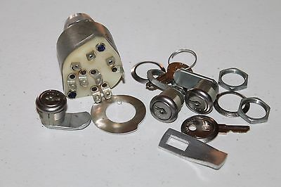 AIRCRAFT IGNITION SWITCH AND LOCK SET Keys Gerdes A-510-12 Set P/N 69997-004