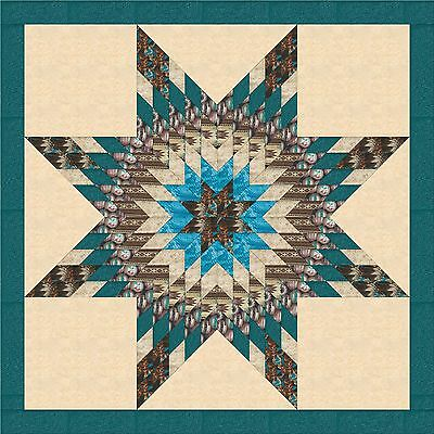 FORGIVENESS STAR QUILT TOP - Not Quilted-Machine Pieced, Made in the USA!