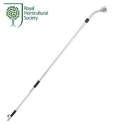 RHS Telescopic Watering Lance 145-245cm with Quick-Click & Geka-Type Connectors