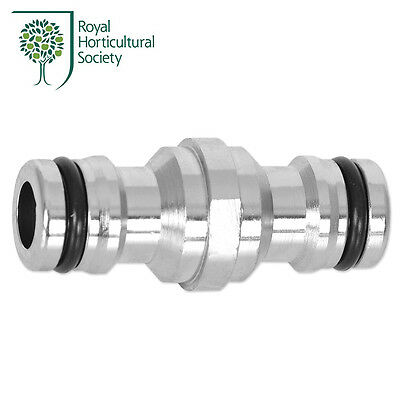 RHS Chrome Double Male Quick-Click Hose Connector