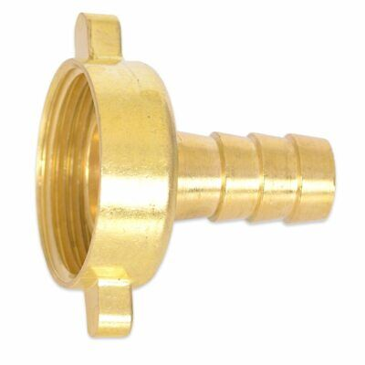 HydroSure 13mm Barbed Brass Tap Connector with 1 BSP Female Thread