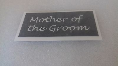 10 - 400 Mother of the Groom stencils for etching on glass hobby craft  wedding