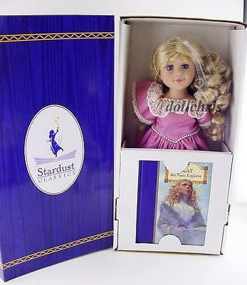 """Stardust Classics Kat the Time Explorer doll 18"""" with book NRFB Just Pretend New"""