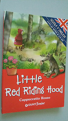 CAPPUCCETTO ROSSO in lingua inglese- Little Red Riding Hood - bambini 6/8