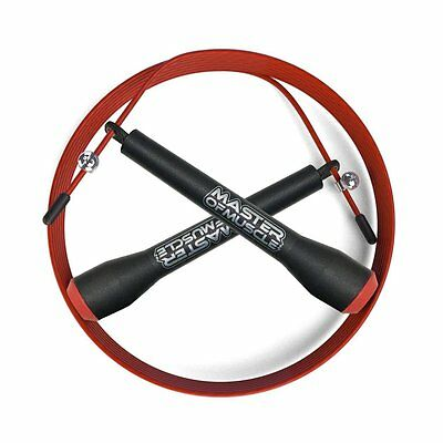 BEST Skipping Rope - NEW PRO Speed Cable with Ballbearing Turn for Double Unders