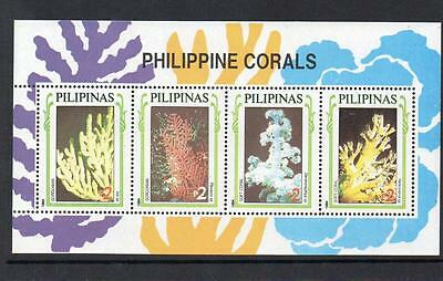 Phillippines MNH 1994 Corals M/S