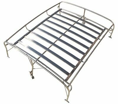 "1949-1977 VW Bug ""Knock Down"" Roof Rack,Stainless Steel"