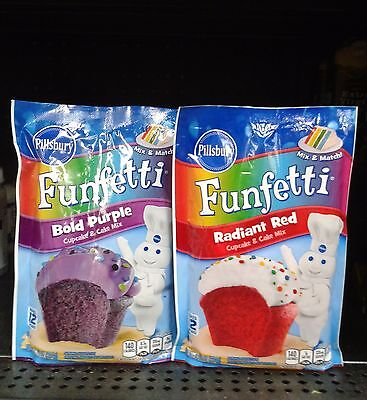 Pillsbury ~Funfetti Cupcake & Cake Mix – Your Choice!