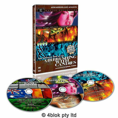Airbrushing With Candies Colours Training Course DVD With Daniel Power