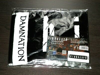 BIOHAZARD Damnation Japan Limited Promo Towel Resident Evil Leon Ada 20th