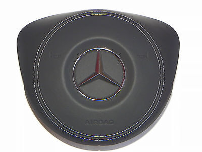 Mercedes Amg C W205, Cls W218 Steering Driver Leather Airbag Cover Original