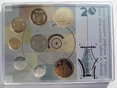 "Ukraine Collection Set 2016 year ""20 Years since Currency reform"""