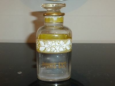 Vintage Westmoreland Glass Ponds Extract Vanity Apothecary Bottle