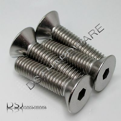 UNC 3/8 Inch A2 Stainless Hexagon Socket Countersunk Screws / CSK Bolts