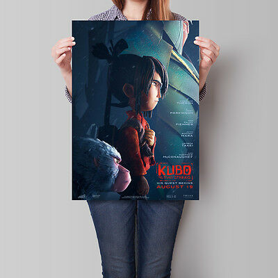 Kubo and the Two Strings Movie Poster 2016 Travis Knight Animated Film A2 A3 A4