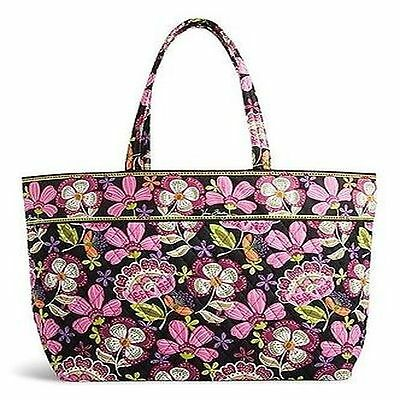 VERA BRADLEY XLarge PIROUTTE PINK Grand Tote Travel Bag New NWT FREE SHIP