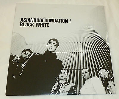 Asian Dub Foundation - Black white   UK 12""